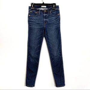 "Madewell | 9"" High Rise Skinny Jeans | Sz 28"